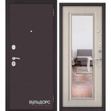 ECONOM Ларче бьянко E-140, mirror, 2 замка