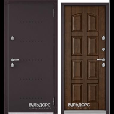 Входная дверь Бульдорс (Buldoors) Termo-1 Орех грецкий Т-103