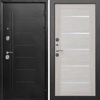 Входная дверь Цитадель 10 см Троя Серебро