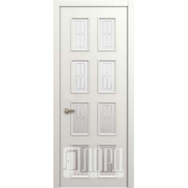 Межкомнатная дверь М5 ПО с гравировкой Лорд