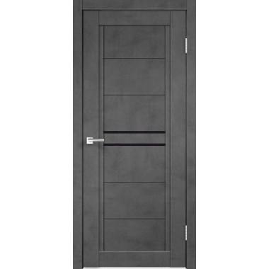 Межкомнатная дверь Next 2 Муар Темный Velldoris