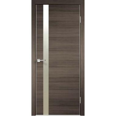 Межкомнатная дверь Techno Z1 с алюминиевой кромкой Velldoris