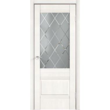 Межкомнатная дверь Alto 2V Эмалит Белый Velldoris